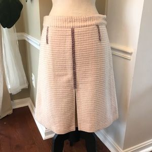 Marc Jacobs Flared Wool Skirt
